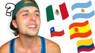 Imitando 15 acentos de España y Latino Americanos