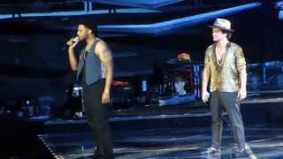 """Bruno Mars """"If I Knew/It Will Rain"""" Live in San Jose"""