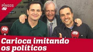 Carioca imita Bolsonaro, Mourão, Dilma, Moro...