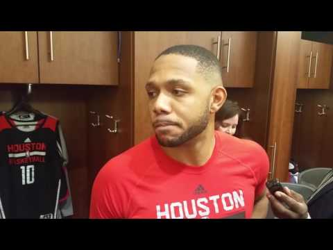 Eric Gordon after hitting 8 threes against Lakers