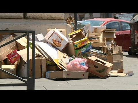 Ιταλία: Τραγική εικόνα της Ρώμης