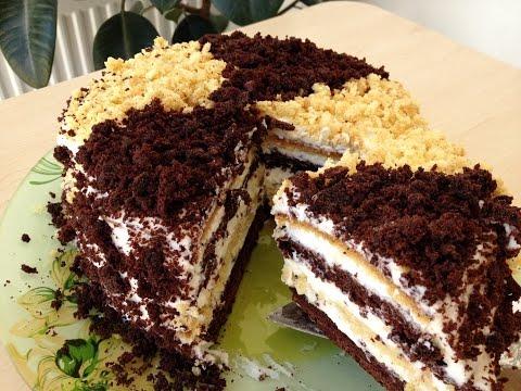Сметанный торт рецепт с фото в домашних