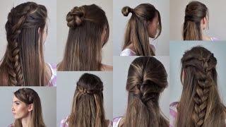 прически на густых волосах фото