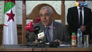 طبي عبد الرشيد يشرف على تنصيب كل من النائب العام لمجلس قضاء تلمسان ورئيس المجلس القضائي