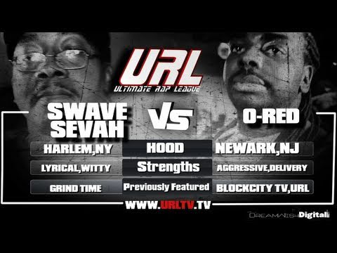 SMACK/ URL PRESENTS O-Red VS Swave Sevah [FULL BATTLE]