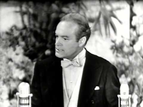 Academy Awards - Bob Hope's Oscars opening monologue at the first televised Academy Awards® on March 19, 1953. Introduced by Charles Brackett.