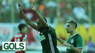 Gabriel e Alecsandro marcaram os gols da vitória alviverde no Barradão. -------------------- Assine o Premiere e assista a todos os...