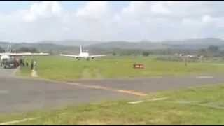 Amazing Boeing 767 300ER Take Off From A Very Short Runway - Ethiopian Airlines 2013