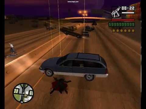 GTA:SA Accident blackspot