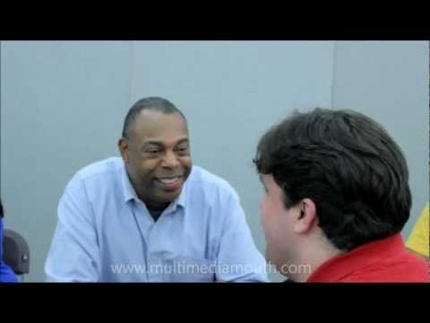 Robert interviews Michael Winslow at London Film and Comic Con 2012
