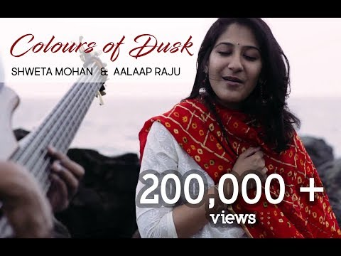 Colours of Dusk - Shweta Mohan & Aalaap Raju (Cover of AR.Rahman's Manmohana)