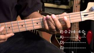 Meghan Trainor ALL ABOUT THAT BASS Bass Guitar Lesson EricBlackmonMusicHD