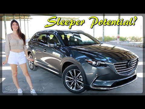 Full Send In A Turbo Family Hauler!! // 2020 Mazda CX9 Signature Review