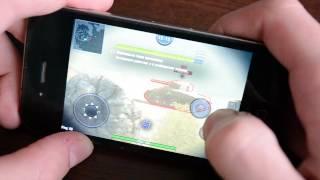 Wot Blitz на iPhone 4. Краткий тест произвÐ...
