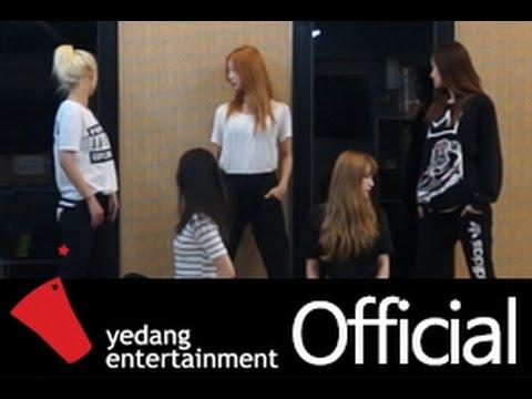 EXID練舞室排練Ah Yeah,平常的打扮更有女友Feel。