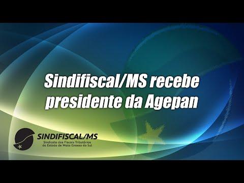 Sindifiscal-MS apresenta projetos à Agepan