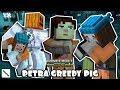 PETRA GREEDY PIG! Minecraft Story Mode Season 2