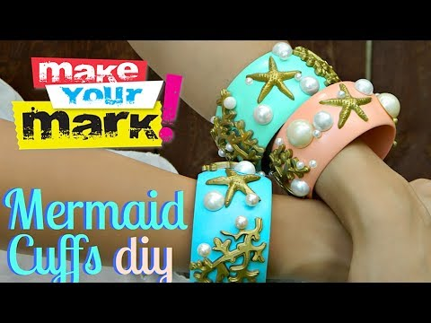 Mermaid Cuffs DIY
