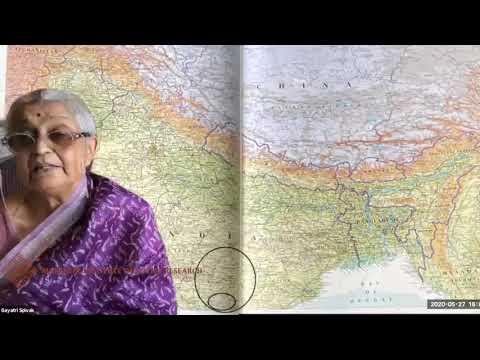 Subalternity. Prof. Gayatri Spivak