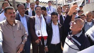 جامعة القدس المفتوحة تشارك في الوقفة التضامنية مع الأسرى
