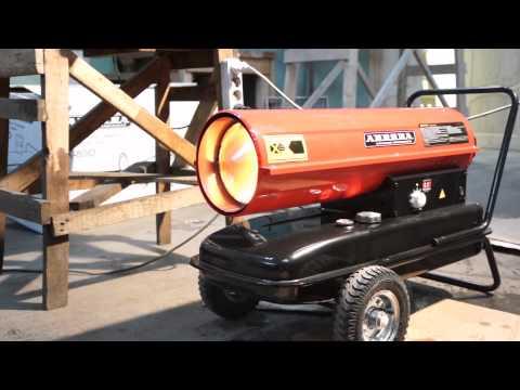 Дизельные тепловые пушки Aurora Diesel Heat 30 и Diesel Heat 40 - лучшее средство утепления