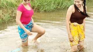 Hello Everyone! Greeting from Siem Reap Cambodia! This is video I want to show you about Creative Girl fishing trap using PVC Pipe - How to Make a Simple Fis...