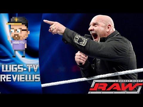 WWE Monday Night RAW 10/17/16 - Goldberg Returns! - WGS-TV Reviews