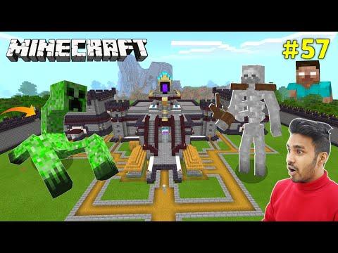 MUTANT CREEPER IN TECHNO GAMERZ CASTLE MINECRAFT | @Techno Gamerz | Minecaft