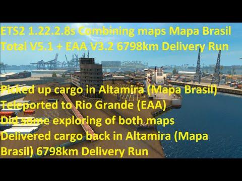 Combining maps Mapa Brasil Total V5.1 + EAA V3.2