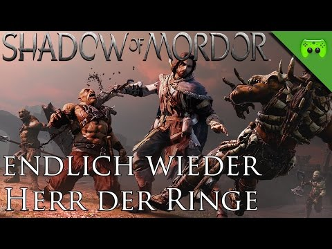 MORDORS SCHATTEN # 1 - Endlich wieder Herr der Ringe «» Let's Play Mittelerde Mordors Schatten | HD