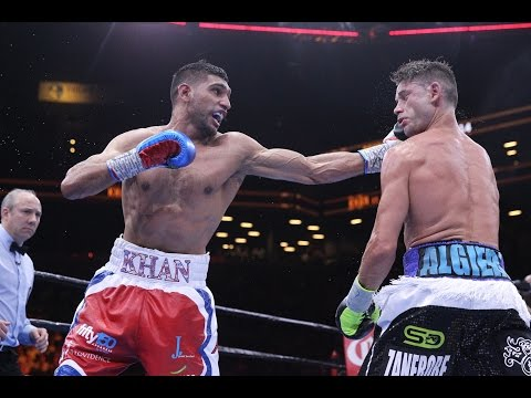 boxe: amir khan vs chris algieri - highlights