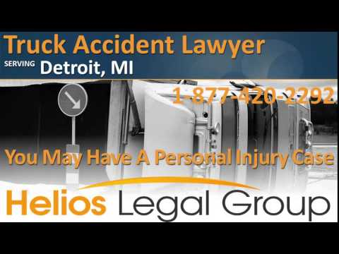 Detroit Truck Accident Lawyer & Attorney – Michigan