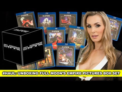#HAUL: What's In The Full Moon Empire Pictures Blu-Ray Box Set? 15 Discs!