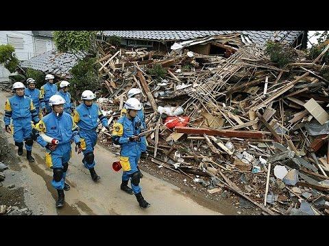 Ιαπωνία: Αγωνιώδεις προσπάθειες για τον εντοπισμό επιζώντων