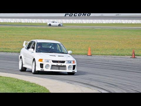Daytime Dragon Battle & Road Course in the Evo 5_Autós videók