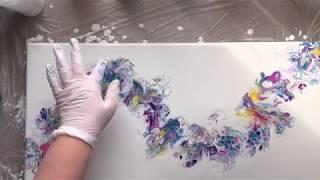Video Balloon Dip or Ballon Kiss Acrylic Pour Painting MP3, 3GP, MP4, WEBM, AVI, FLV Juli 2019