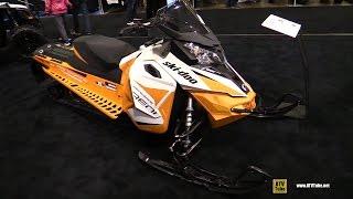 6. 2017 Ski Doo Renegade Adrenaline 1200 Sled - Walkaround - 2016 Toronto ATV Show