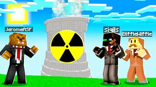 Creating A NUCLEAR Silo In Minecraft Skyfactory