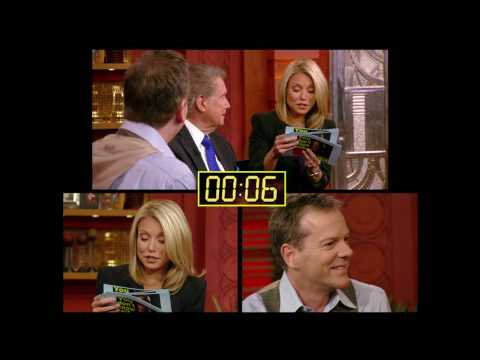 Kiefer Sutherland on Live With Regis and Kelly