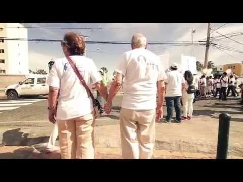 Marcha Pacifica en Rep. Dominicana, 46° Asamblea General OEA