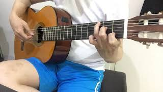 Beauty and the beast Guitar Cover, ariana grande, tale as old as time, Fingerstyle guitar, emma