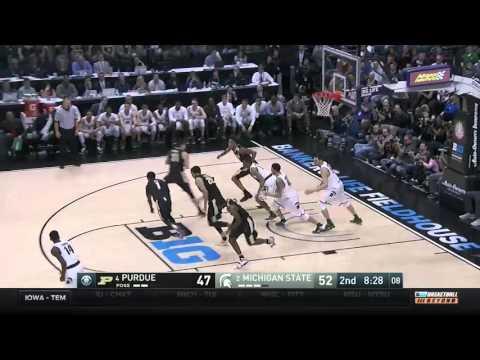 Purdue vs. Michigan State - 2016 Big Ten Men's Basketball Tournament Highlights