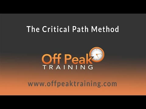 , title : 'How to perform Critical Path Method (CPM) and find Float'