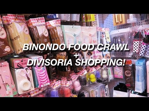 Vlog: Binondo Food Crawl + Divisoria Shopping! | Raiza Contawi