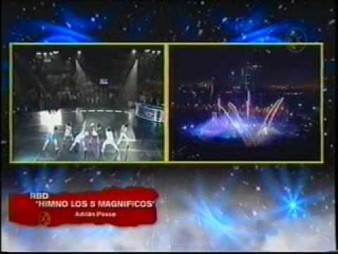RBD - Himno Los 5 Magníficos