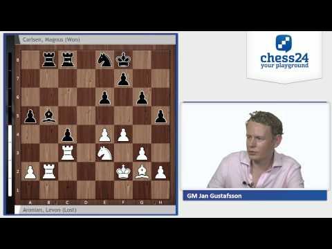 Jan Gustafsson on Aronian 0-1 Carlsen