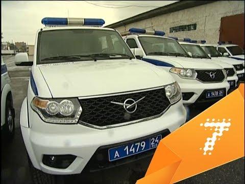 Красноярские полицейские первые вРоссии получили новые спецмашины