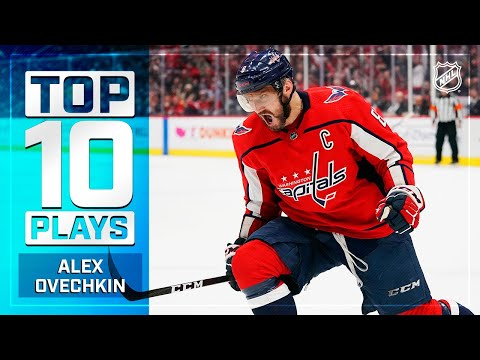 Top 10 Alex Ovechkin Plays from 2019-20 | NHL