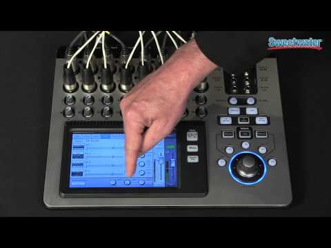 QSC TouchMix-16 Digital Mixer Overview - Sweetwater Sound