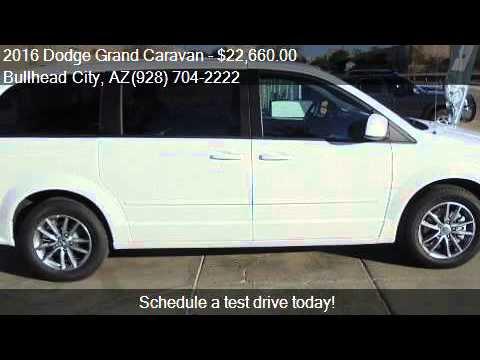 2016 Dodge Grand Caravan AVP/SE for sale in Bullhead City, A